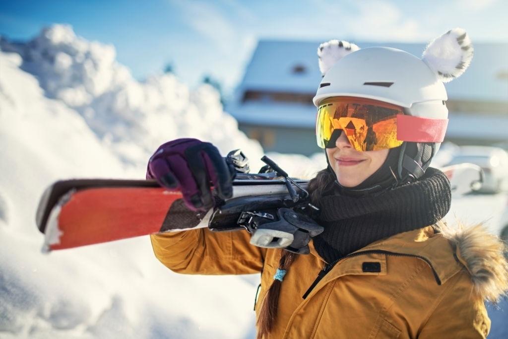 Anti Fog Ski Goggles